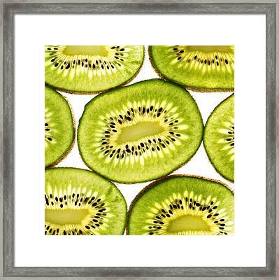 Kiwi Fruit IIi Framed Print by Paul Ge