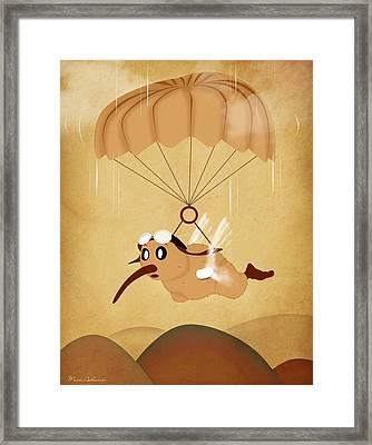Kiwi  Framed Print by Mark Ashkenazi