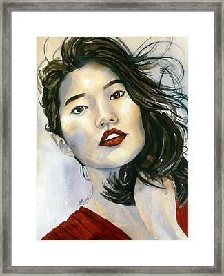 Kiyomi Framed Print