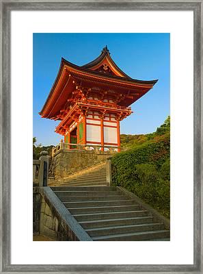 Kiyomizudera Temple Framed Print by Sebastian Musial