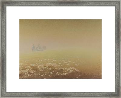 Framed Print featuring the painting Kizhi by Alla Parsons
