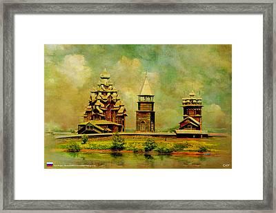 Kizhi Pogost Framed Print