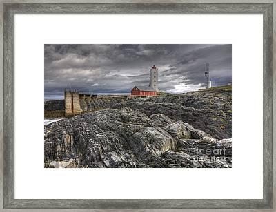 Kjolnes Lighthouse 1 Framed Print
