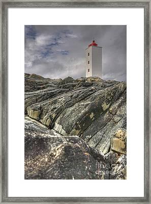 Kjolnes Lighthouse 3 Framed Print