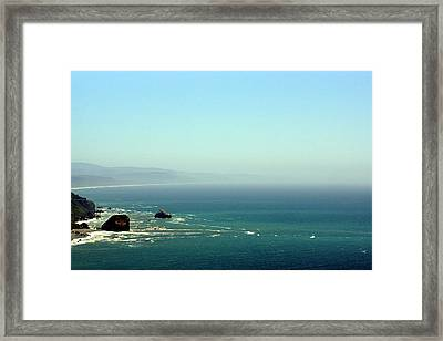 Framed Print featuring the photograph Klamath River Outlet by Thomas Bomstad