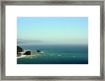 Klamath River Outlet Framed Print