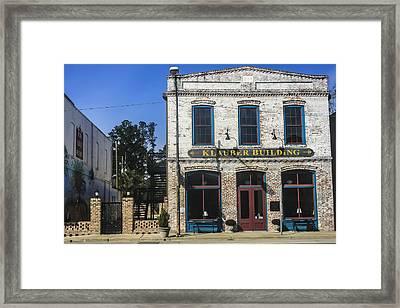 Klauber Building  Framed Print by Steven  Taylor