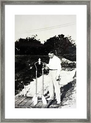 Klaus Riedel Framed Print