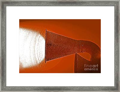 Klaxon Alert Framed Print by First Star Art