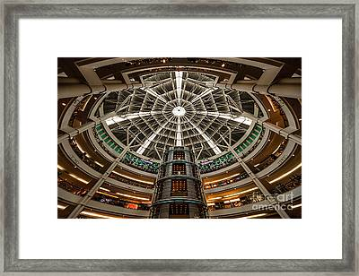 Klcc Mall Framed Print by Adrian Evans