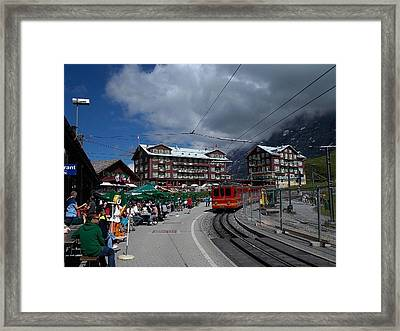 Kleine Schedegg Switzerland Framed Print