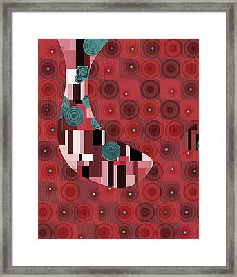 Klimtolli - 01rdbl01 Framed Print