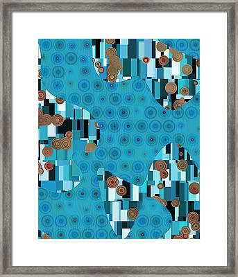Klimtolli - 02trq1bgap Framed Print by Variance Collections