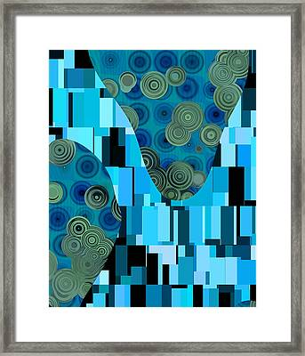 Klimtolli - 08blbl0101 Framed Print by Variance Collections