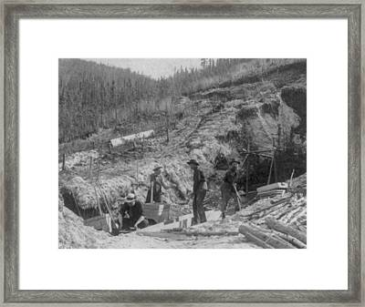 Klondike Gold Rush, Discovery Claim Framed Print