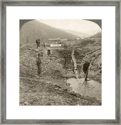 Klondike Gold Rush Framed Print