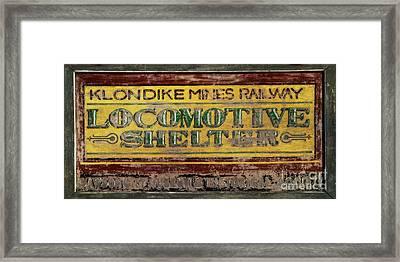 Klondike Mines Railway Framed Print by Priska Wettstein