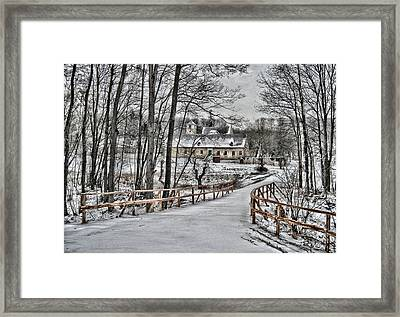 Framed Print featuring the photograph Kloster St. Anna  by Gabriella Weninger - David
