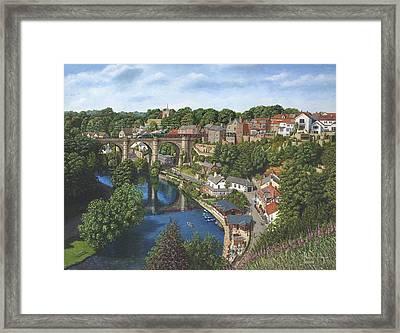 Knaresborough Yorkshire Framed Print by Richard Harpum