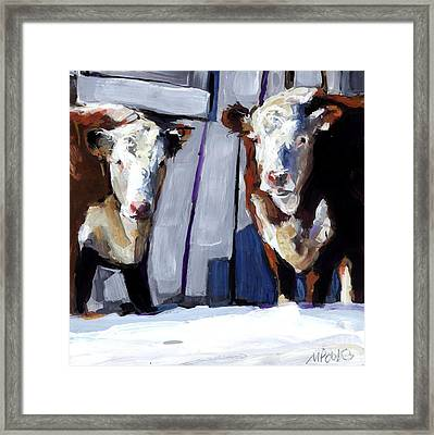 Knee Deep Framed Print by Molly Poole
