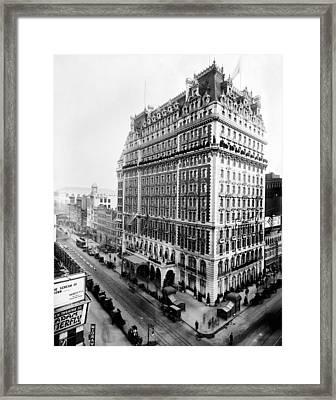 Knickerbocker Hotel, C1905 Framed Print by Granger