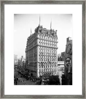 Knickerbocker Hotel, C1909 Framed Print by Granger