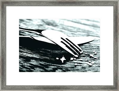 Knife And Fork Framed Print by Blink Images