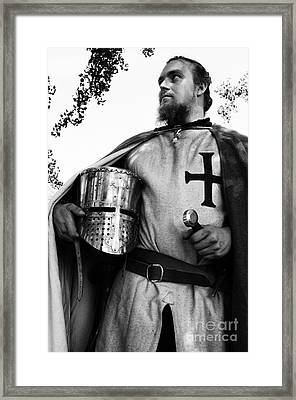 Knight 3 Framed Print by Bob Christopher