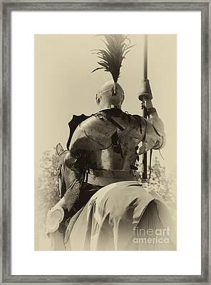 Knight 6 Framed Print by Bob Christopher