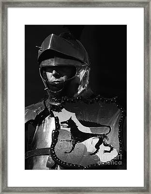 Knight 7 Framed Print by Bob Christopher