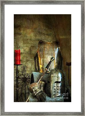 Knight - A Warriors Tribute  Framed Print by Paul Ward