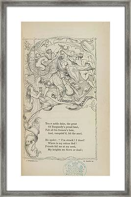Knight Framed Print by British Library