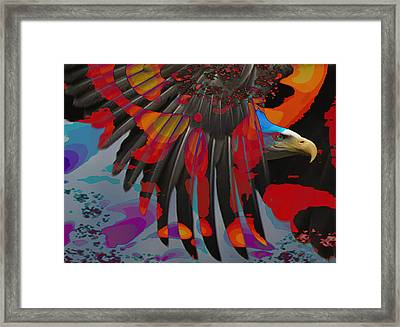 Knight Of The Sky Framed Print