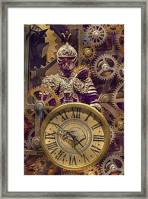 Knight Time - Chuck Staley Framed Print