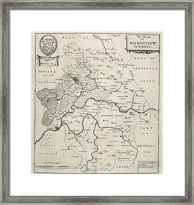 Knightlow Hundred Framed Print by British Library