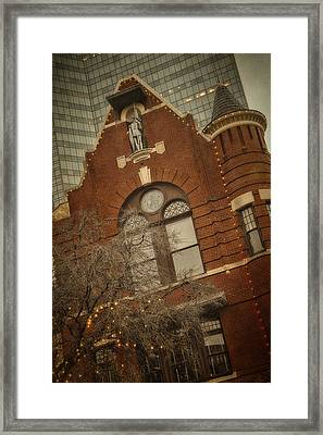 Knights Of Pythias Castle Hall Framed Print by Joan Carroll