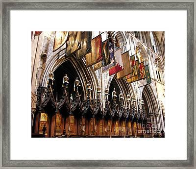 Knights Of St. Patrick 2 Framed Print by Mel Steinhauer