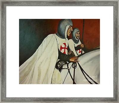 Knights Of Tomar Framed Print
