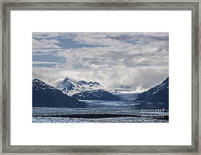 Knik Glacier Alaska Framed Print