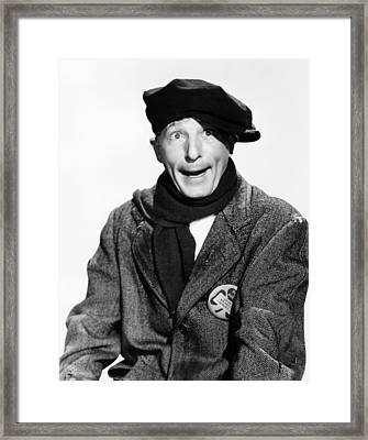 Knock On Wood, Danny Kaye, 1954 Framed Print