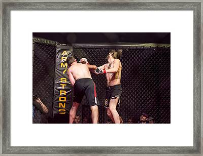Knock Out Framed Print by Robin Williams