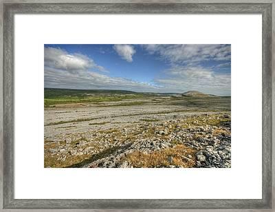 Knockanes Mountain Framed Print by John Quinn