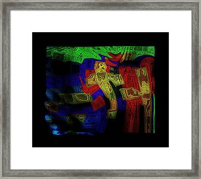 Knocking On Heavens Doort Framed Print by Mimulux patricia no