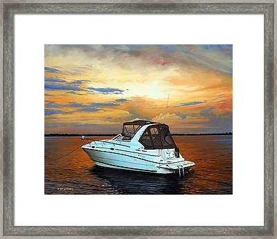 Framed Print featuring the painting Knot A Problem by Rick McKinney