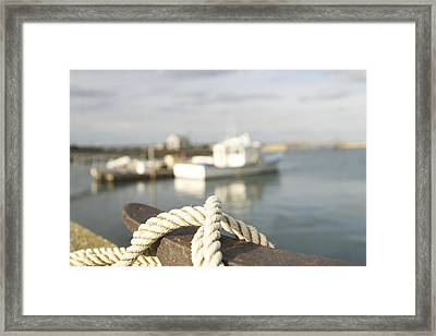 Knot Going Far Framed Print by Eugene Bergeron