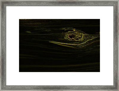 Knot Me Framed Print by Travis Crockart