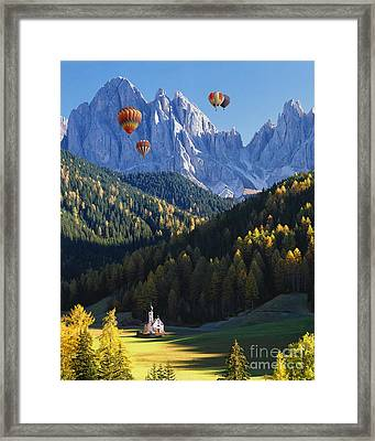 Know No Bounds Framed Print