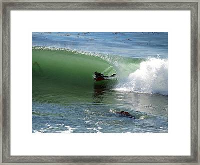 Know What Lies Beneath Framed Print