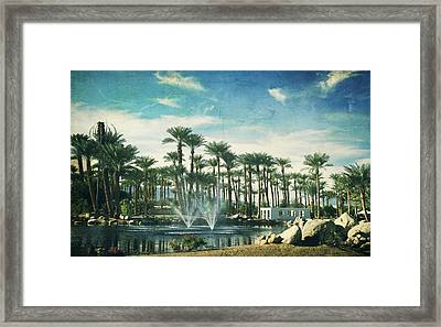 Knowing What Matters Framed Print by Laurie Search