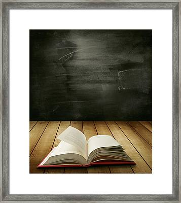 Knowledge Framed Print by Les Cunliffe